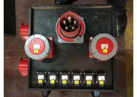 Boitier 125A tri +CABLE 125A