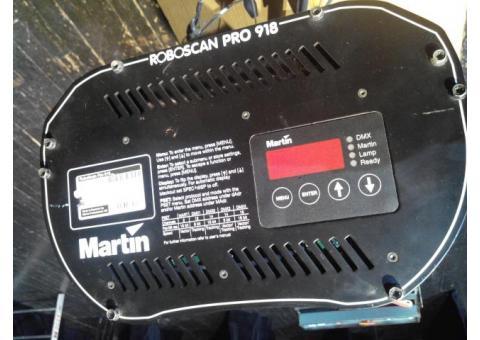 scan martin Pro918