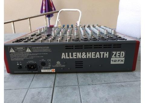 Allen and heath zed 12fx