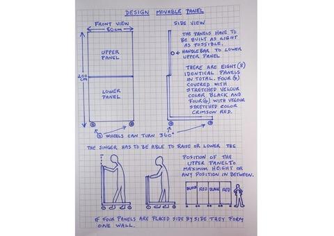 4 castelets modulables et mobiles