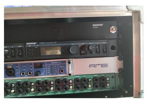 Shure ua440 rack 1u pour antenne