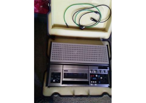 Magnétoscope Sony UMATIC