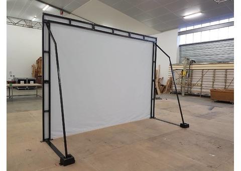 vends portique support + toile de projection vidéo