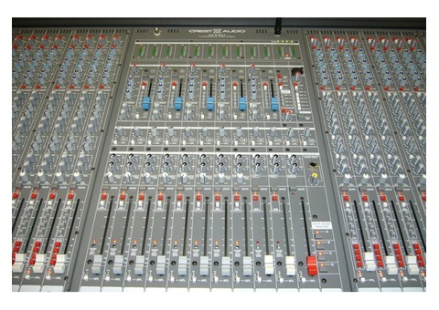 console Crest audio 48