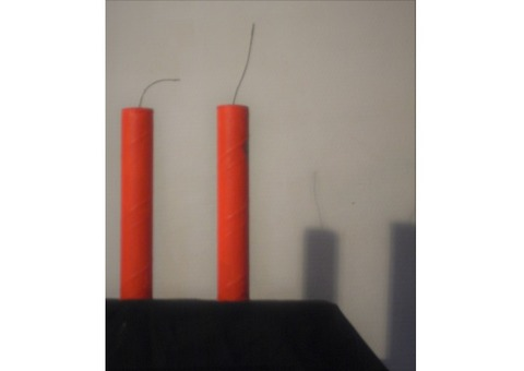 BATONS de DYNAMITE, (factices)