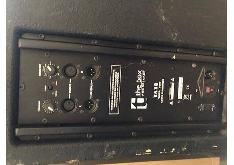 Sub THe Box TA 18