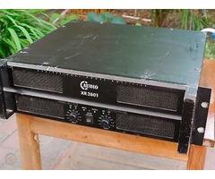 Ampli 2 canaux CRX 3801 C Audio