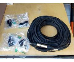 100m cable DMX 5 points