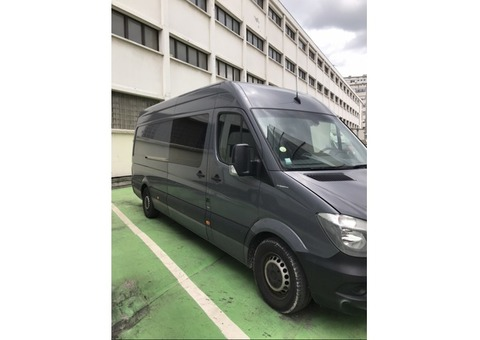 Tour van Mercedes 316 cdi L3H2 7 places