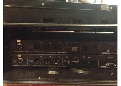 Yamaha D1030, Digital Delay Line, Equalizer, 3 Ch Out, Vintage Rack