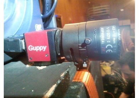 Camera monochrome matricielle haute résolution Gigabit Ethernet AVT MANTA G-046B