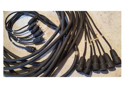 Multipaire 6 circuits épanoui Mâle/Femelle NF - 25 m