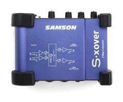Vend Filtre actif 2 voies S XOver Samson