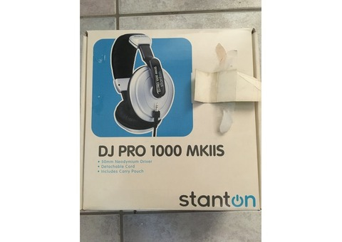 Vend Casque Stanton DJ Pro 1000 MKII