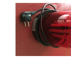 GIROPHARE À LED American audio (Rouge)