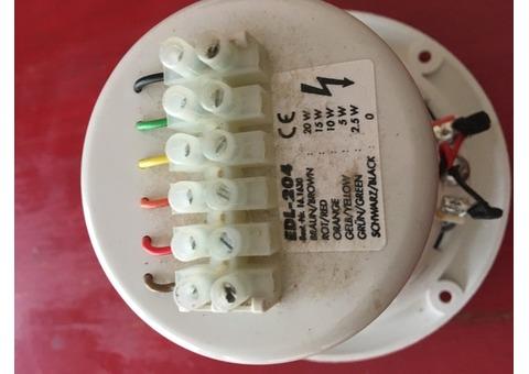 Haut parleur encastrable 6 watts /100 volts