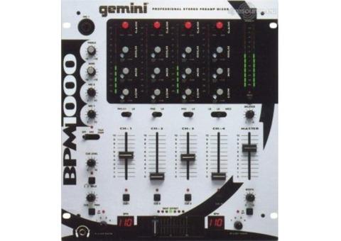 Table de mixage BPM 1000 Gemini