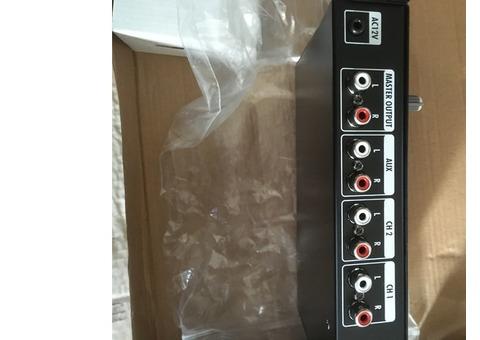 Vend table de mixage PMP 100 USB Power