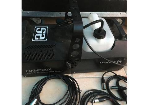 Vend machine à fumée FOG 1200X Contest