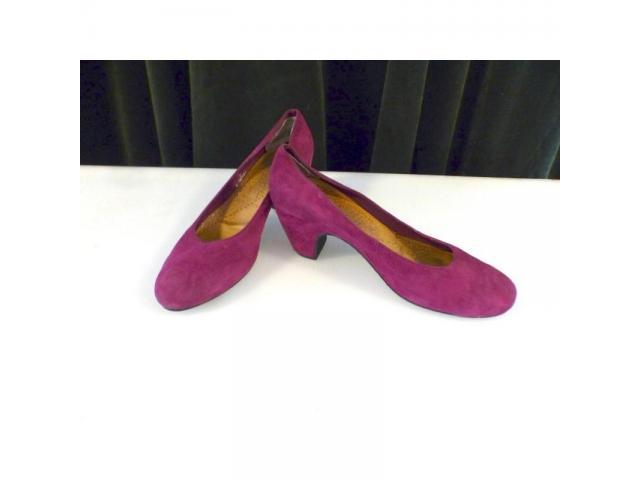 Chaussure talon violet