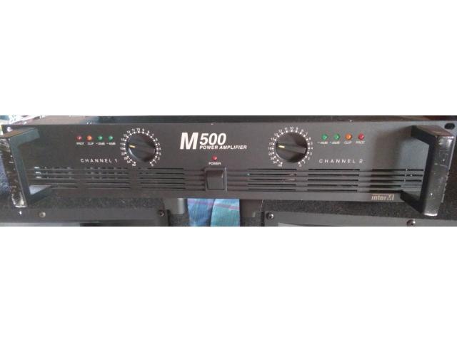 AMPLI INTER M500 PLUS