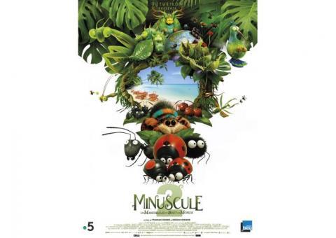 Étagère/Gondole : véritable décor du film Minuscule