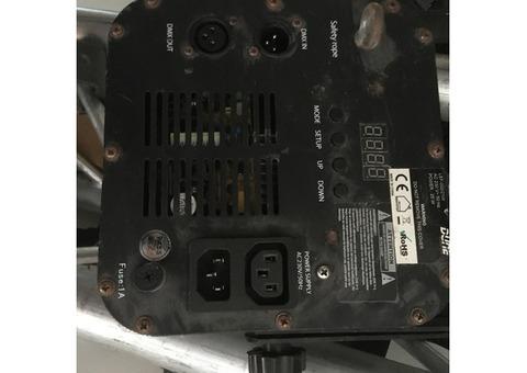 Vend projecteur PAR 56 LED 18 X 3 W RGBW