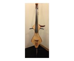 Contrebasse Electrique Midi 5 cordes GAUCHER luthier Hervé Prudent