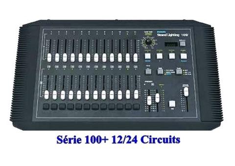 Console lumière Philips série 100+12/24 circuits