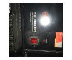 Vend Ampli V 800 Mosfet HH Electronic