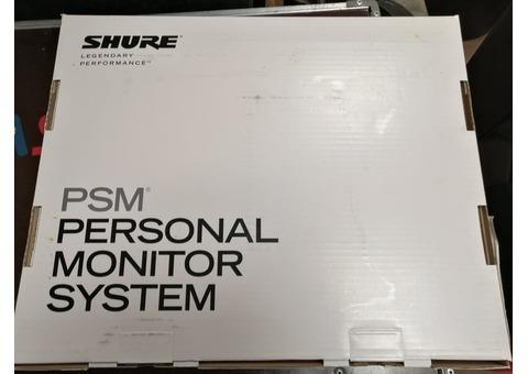 Ears monitors SHURE PSM 300 neuf