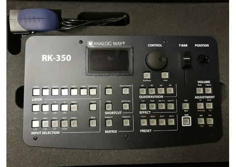 Mélangeur Scaler ANALOG WAY Pulse 350H + RK350