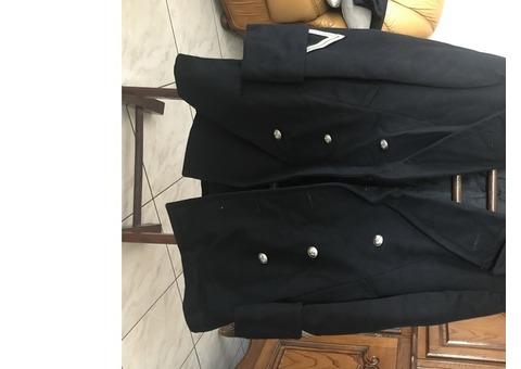 Caban (veste 3/4) de la gendarmerie nationale française