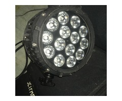 Vend PAR LED RGB IP 65 Ghost