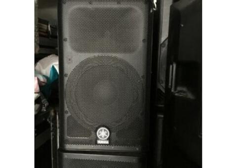 Vend enceinte DXR 12 Yamaha