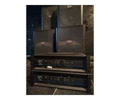 Système complet sonorisation DAS QSC