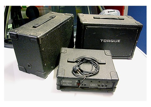 SONO TORQUE PréAmpli & Enceintes portables