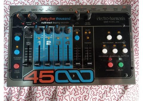 Looper Electro-Harmonix 45 000 + Foot Controller