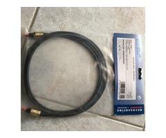 Cordon Fibre Optique 2 m Monacor