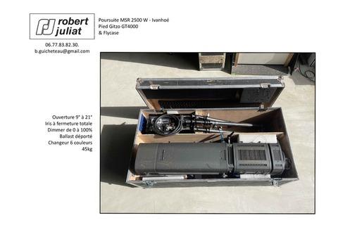 Lumière Poursuite HMI RSM 2500W Ivanhoé - Robert Juliat