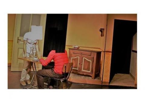 Décor théâtre neuf