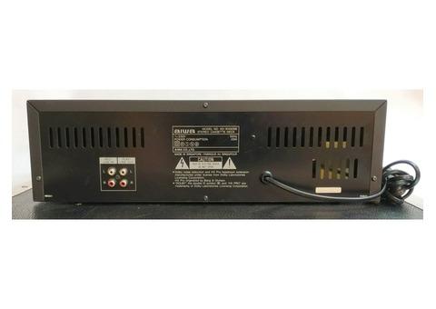 1 platine lecteur/enregistreur de cassettes double Aiwa AD-WX929