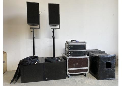 D&B Audiotechnik Q10 / Qsub / D12 - complet système