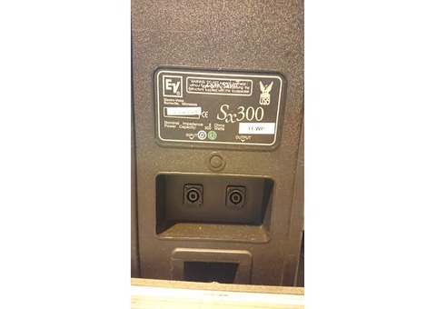 Enceintes ElectroVoice Sx300