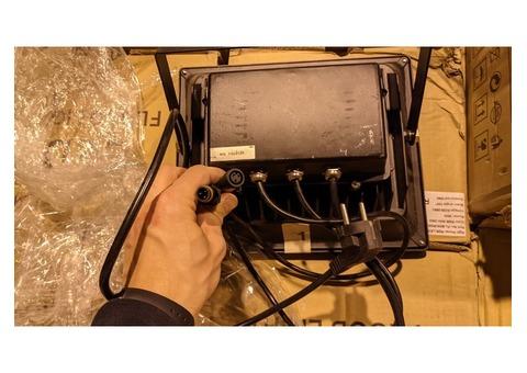 Lot de projecteurs Flood led avec connectique mini dmx étanche