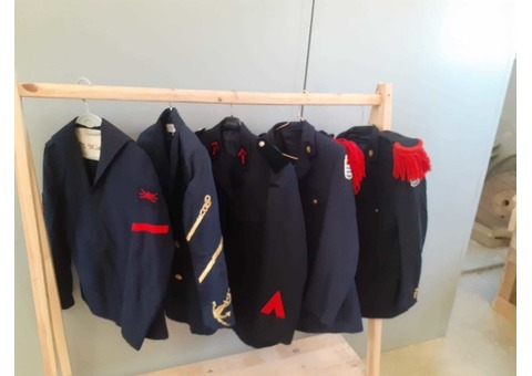 Costumes complet militaire