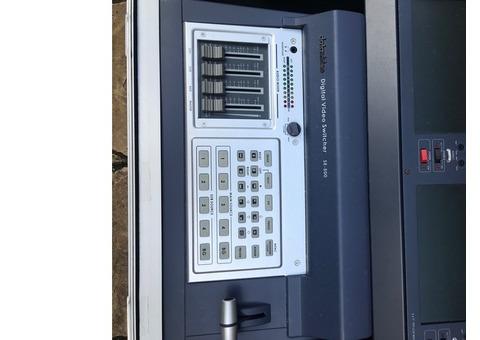 Régie vidéo analogique SE-500