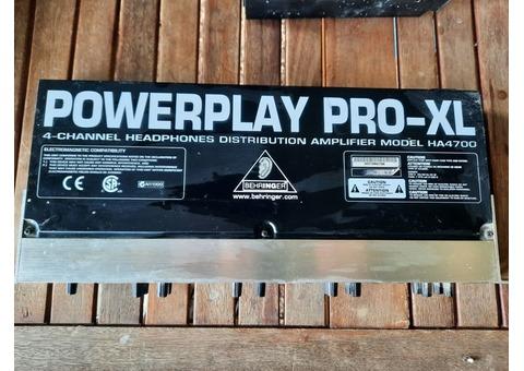 Behringer powerplay Pro XL