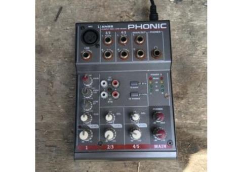 Vend console AM 55 Phonic