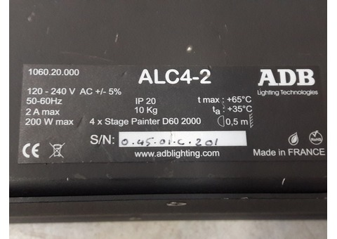 5 cycliodes ADB ALC 4-2 à LED